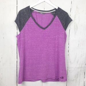 The North Face V Neck Short Sleeve Top